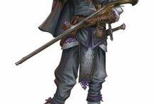 Blackpowder Characters