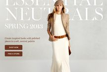 Creative Fashion Emails / Fashion emails, newsletters, marketing