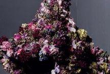 Цветы в одежде