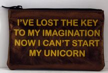 Unicorns / For your inspiration, imagination, & laughs