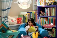Design Ideas For Kids Reading & Play Area
