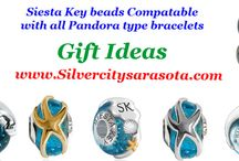"Pandora compatable beads ""Siesta Key Beach"""