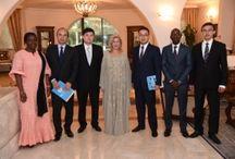 Dominique Ouattara explique les grands projets de Children Of Africa au Vice-Ministre des affaires étrangères du Kazaksthan