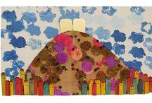 אומנות- יצירה עם ילדים-  Kids craft / by Nava Greenstain