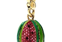 Charms | Juicy Couture / Modern enamel and crystal set charms by fashion label Juicy Couture