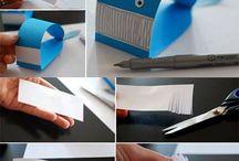 papír csík barkácsolás