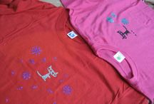 Decorated T-shirts
