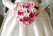 Wedding Bouquet ウェディングブーケ / アトリエノリーズが制作したウェディングブーケです。