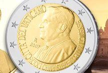Vatikan und weitere Kleinstaaten / Interessante Geschichte, alte Traditionen, gesuchte Münzen, ob Euro oder Vor-Euro