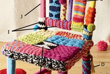 knitting & Crochet projects / by Patricia De La Rosa