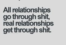 Relationships and shit