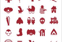 Visual - icons - research