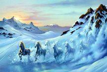 лошади фэнтази