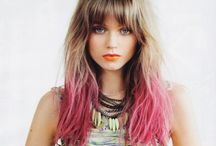 Hair Styles I like ✄ / by Sally F. ❀
