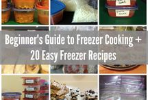 Once a Month - Shopping/Freezer Cooking
