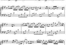 Musique Piano Partition