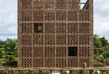 porous facade