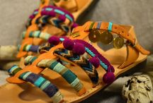 Bohoho sandals / Handmade Greek bohemian sandals