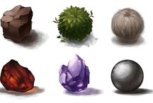 concept art - things