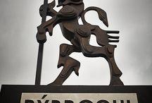 Rybrcoul / Bronzová socha prvního vyobrazení Krakonoše v Trutnově, odlito ve slévárně HVH, Horní kalná, foto Miloš Šálek + archýv