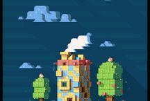 pixel/voxel