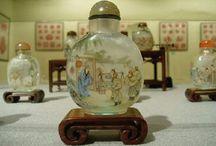 Chinese glass tobacco