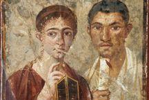 greek rome fresco