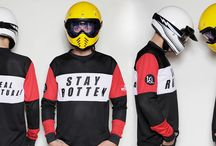 "STAY ROTTEN MOTO JERSEY / This is the regular fit long-sleeve t-shirt, designed with our TRI bare hands, for our special event ""The Rotten Race""! Made with 220Gm polyester airtex jersey fabrication, stitched patches on the shoulders and printed at The Real Intellectuals atelier. Find out more about The Rotten Race here: https://www.facebook.com/therottenrace/"