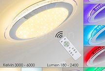 LED Deckenleuchten - Deckenlampen / Deckenleuchten für Wohnzimmer, Schlafzimmer, Badezimmer, Flur, Küche und anderen Räumlichkeiten