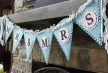 Stampin' Up! Pennants/Banners / by Melissa Davies - bee divine designs