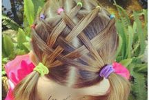 Hair style for little girl