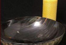 Horn-skål / dyb tallerken.