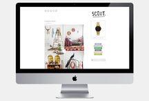 GRAPHIC DESIGN / Des inspirations graphiques pour le Web Design