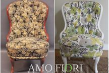Amofiori Armchairs Makeovers / Old armchairs can become a real design masterpiece. Here is a collection of my own makeovers. Enjoy!