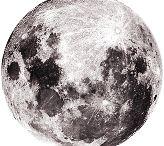 His Divine Eminence RaRiaz Gohar Shahi's image on the moon.