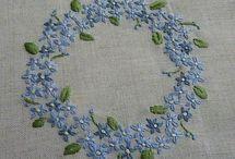 вышиваем/вяжем цветы - стежки