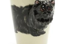 muddymood Cat Mug / by madamepOmm BYK
