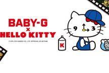 Hello Kitty Casio BABY-G