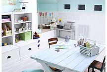 playroom ideas / by Andrea Kelley