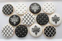 b&w cookies