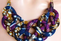 African print jewelry!!