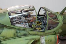 Beautiful aircraft model