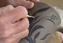 Keramik og teknikker / Teknikker