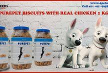 Purepet Real Chicken Dog Biscuits