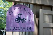 Blacksmith Shop & Classes / Troy Historic Village has its own forge.  We offer classes in basic blacksmith crafts.