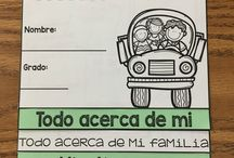 Bilingual Back to School Resources / Back to school resources for the bilingual classroom!