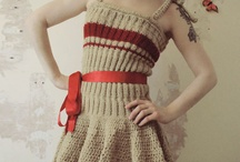 Knitted dresses / by Catherine Koehler