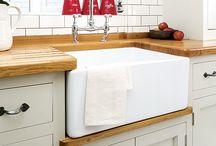 butler sink kitchen