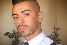Mannen makeup