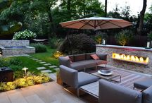 Outdoor Living, Dining, and Entertaining / Soundcast music systems enhance the outdoor room by bringing your favorite music into the mix.  Here are some of our favorite outdoor living spaces, recipes, and entertaining ideas!